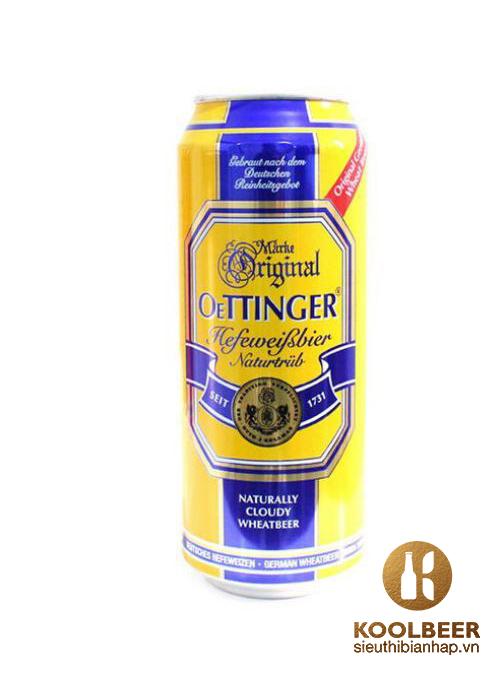 Bia Oettinger Béo 4,95%- Bia nhập khẩu Đức - TPHCM