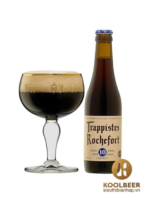 Bia Rochefort 10 11,3% - Thùng 24 Chai 330ml - Siêu thị bia nhập khẩu HCM