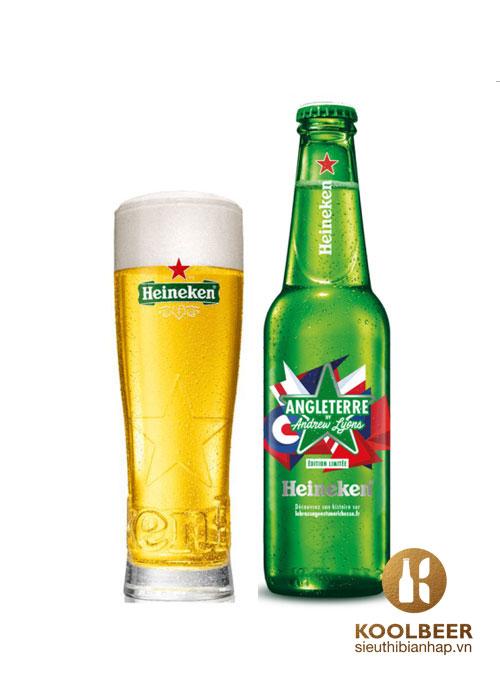 Bia Heineken Pháp 5% 20 chai