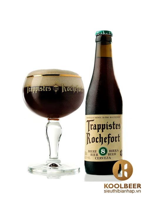 Bia Rochefort 8 9,2% - Thùng 24 Chai 330ml- Siêu thị bia nhập HCM