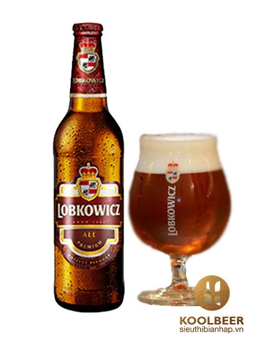 Bia Lobkowicz Alee 4,7% chai 500ml