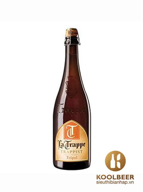 Bia La Trappe TRIPEL 8% chai 750ml