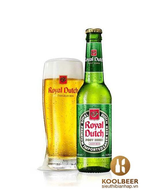 Bia Royal Dutch 5% - Thùng 24 Chai 330ml - Siêu thị bia nhập HCM