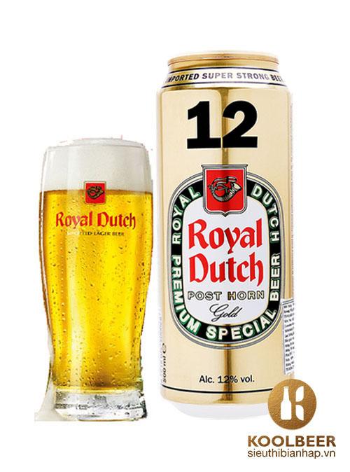 Bia Royal Dutch Gold Super Strong 12% - Bia Hà Lan nhập khẩu ở HCM