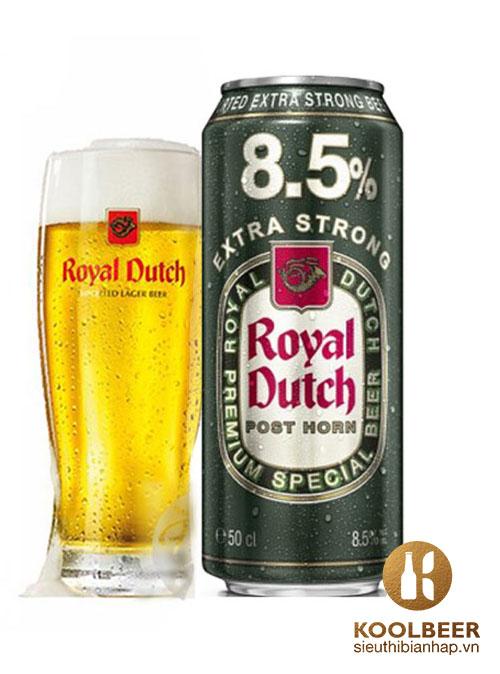 Bia Royal Dutch Post Horn Extra Strong 8,5% - Bia Hà Lan nhập khẩu HCM