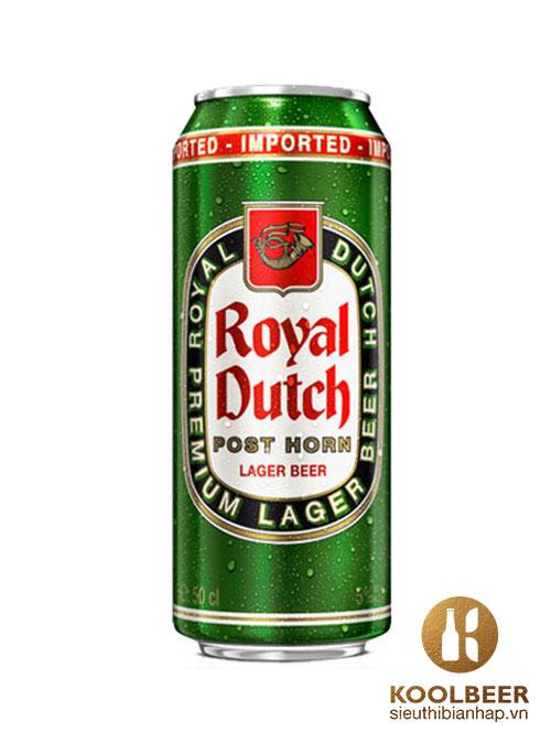 Bia Royal Dutch Post Horn Full Flavour 5% - Bia nhập khẩu TPHCM