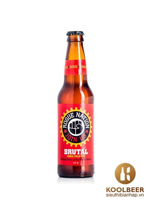 Bia Rogue Brutal IPA 6% - Thùng 24 Chai 330ml - Siêu thị bia nhập HCM