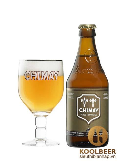Bia Chimay Vàng 4,8% – Chai 330ml – Niềm Tự Hào Bia Bỉ