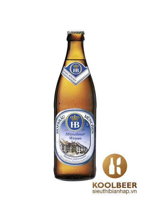 Hofbrau Munchen Munchner Weisse 5,1% - Chai 500ml