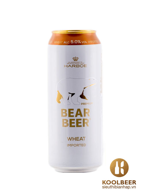 Bia Bear Beer Wheat Imported 5%