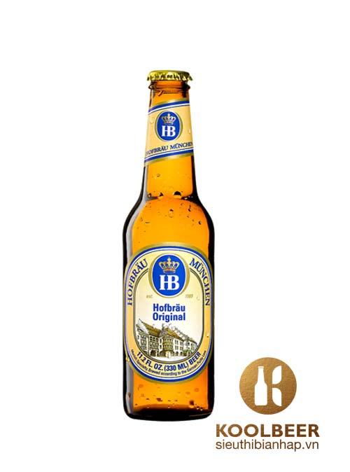 HB Hofbrau Munchen Hofbrau Original 5,1% - Chai 330ml