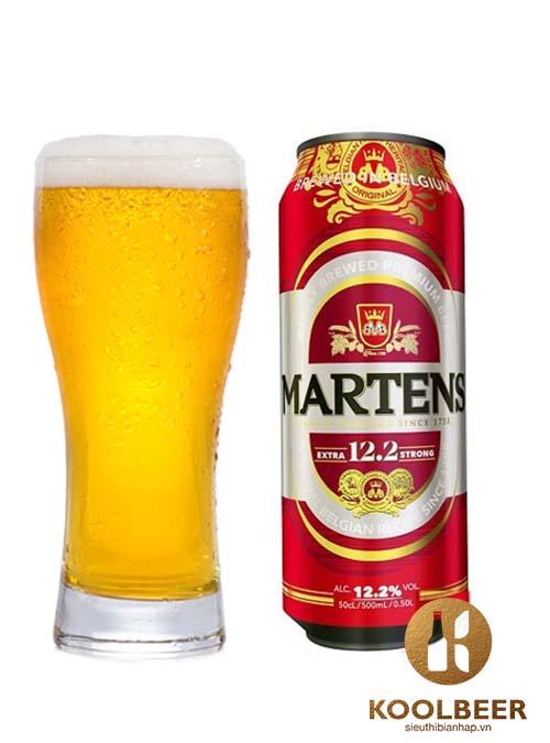 Bia Martens Extra Strong 12.2% - Bia nhập khẩu từ Bỉ - TPHCM