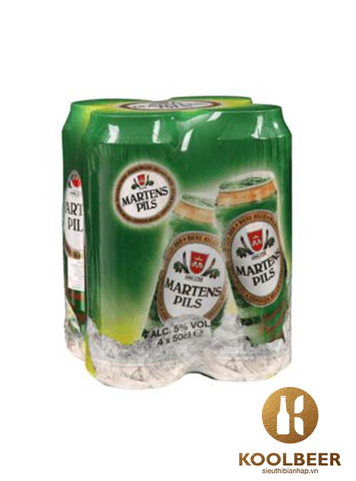 Bia Martens Pils 5% - Bia nhập khẩu từ Bỉ - TPHCM