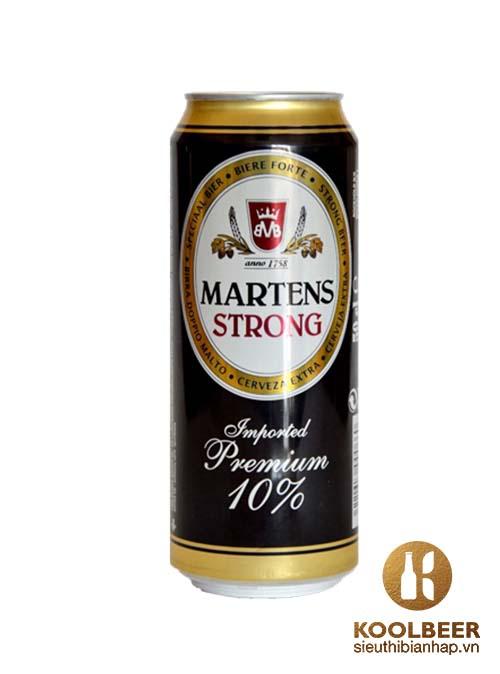 Bia Martens Strong 10% Bia nhập khẩu từ Bỉ - TPHCM