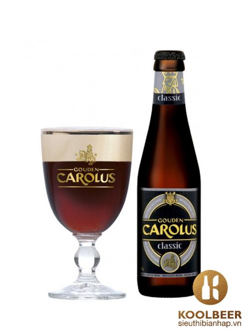 Bia-Gouden-Carolus-Classic-8-5-Chai-330ml-Thung-24-Chai