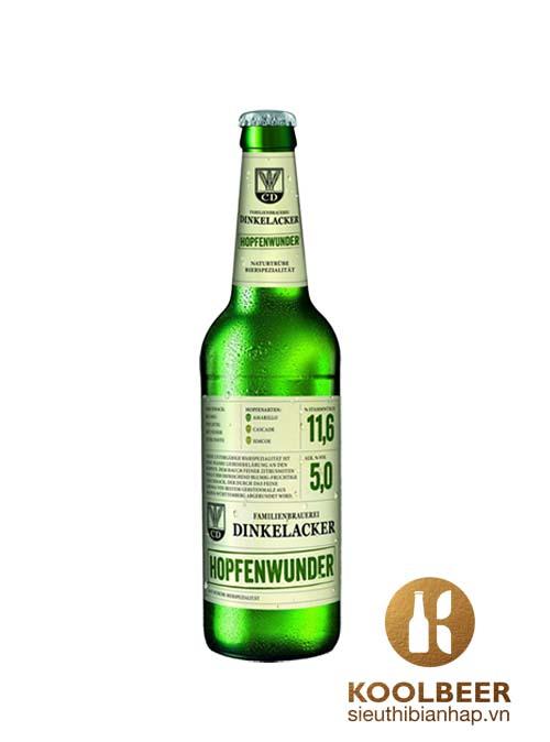 Bia Dinkelacked Hopfenwuder 5% - Chai 330ml – Bia Đức Nhập Khẩu TPHCM