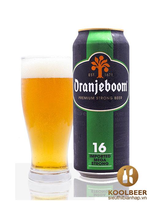 Bia Oranjeboom Premium Strong 16%- Bia nhập khẩu Hà Lan TPHCM