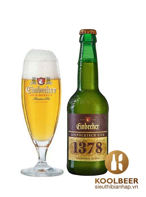 Bia Einbecker 1378 6.7% - Chai 330ml - Thùng 24 Chai