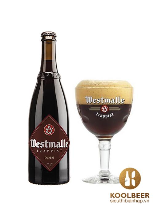 Bia-Westmalle-Dubbel-7-Chai-750ml-Thung-12-Chai