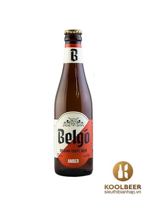 Bia Belgo Amber 5.1%