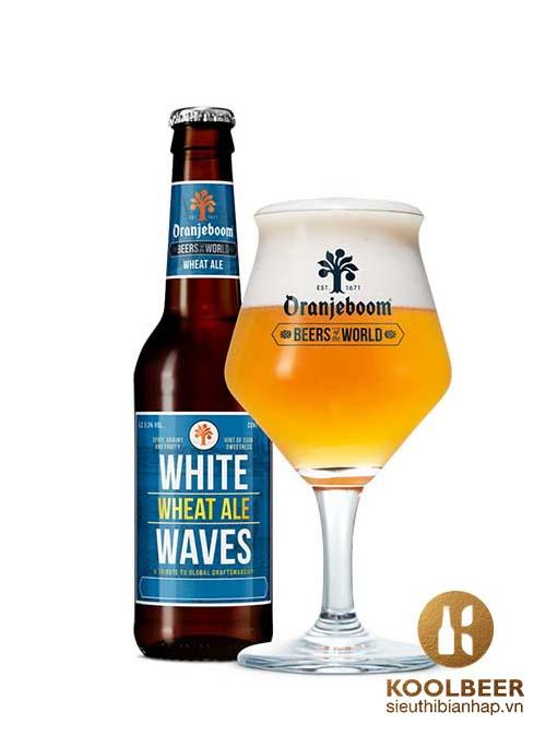 Bia Oranjeboom White Waves Wheat Ale 5.3%- Siêu thị bia nhập HCM