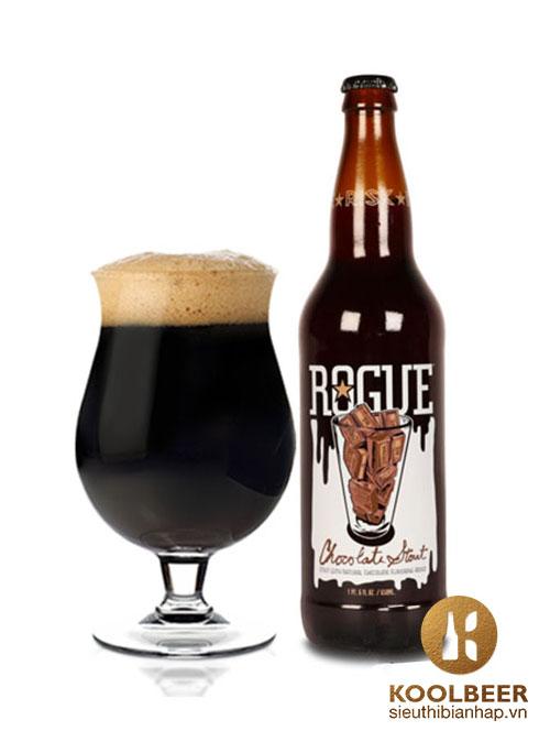 Bia Rogue Chocolate Stout 5.8% - Chai 650ml - Siêu thị bia nhập HCM
