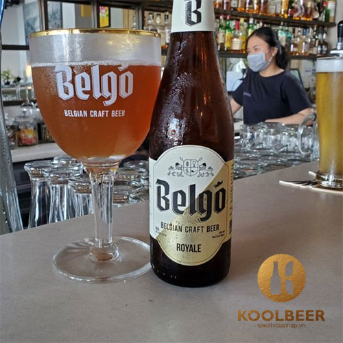Bia Belgo Royale 7.6% – Chai 330ml – Thùng 24 Chai