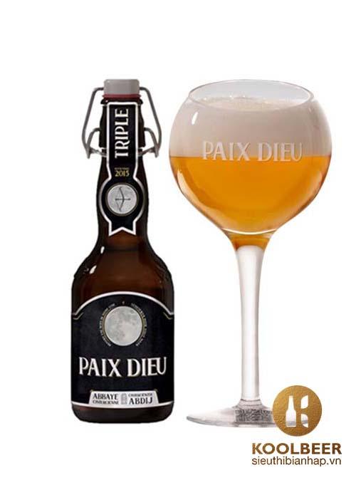 Bia Paix Dieu 10% - Thùng 24 Chai 330ml - Siêu thị bia nhập HCM