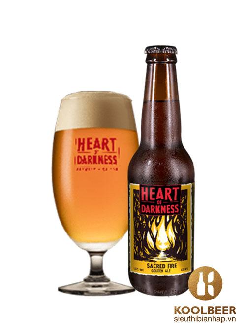 Bia Sacred Fire Golden Ale 4.5% - Bia nhập khẩu TPHCM