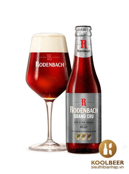 Bia Rodenbach Grand Cru 6% - Thùng 24 Chai 330ml - Siêu thị bia nhập HCM