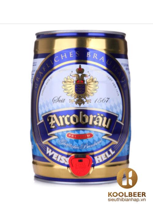 Bia Arcobrau Weissbier Hell 5.3%