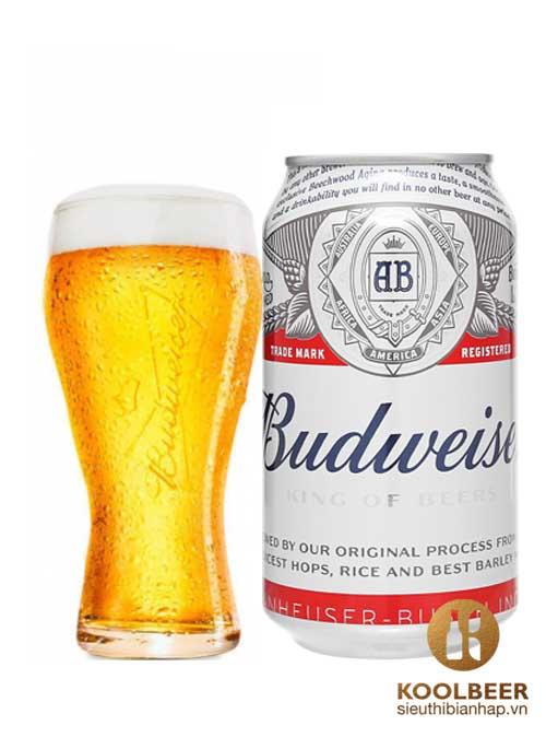 Bia Budweiser Phiên Bản Tết – Lon 330ml – Thùng 24 Lon