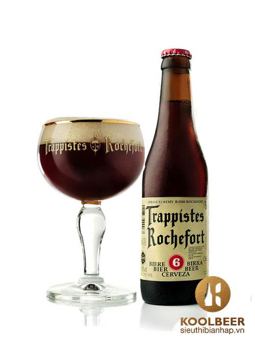 Bia Rochefort 6 7.5% - Thùng 24 Chai 330ml - Siêu thị bia nhập HCM