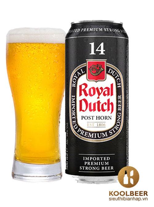 Bia Royal Dutch 14% - Thùng 24 Lon 500ml - Siêu thị bia nhập HCM