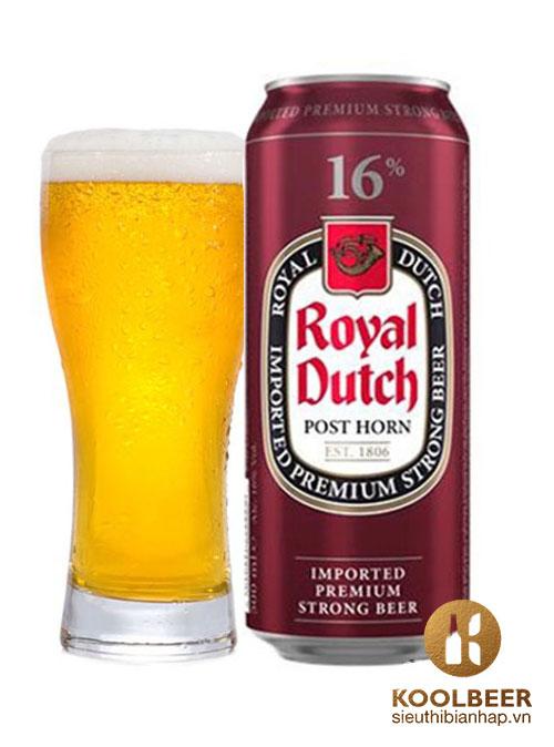Bia Royal Dutch 16% - Thùng 24 Lon 500ml - Siêu thị bia nhập HCM