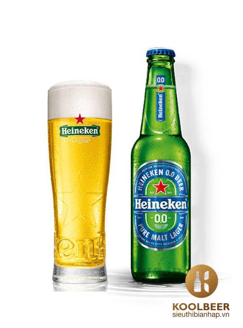 Bia Heineken Không Cồn 0%
