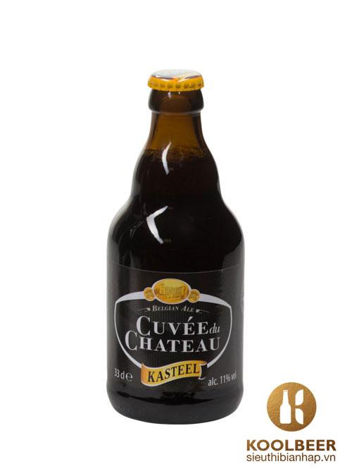Bia Kasteel Cuvee du Chateau 11% - Thùng 24 chai 330ml