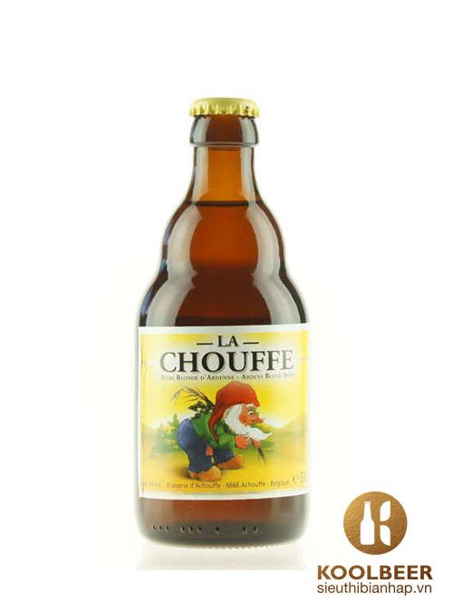 Bia La Chouffe 8% chai 330ml